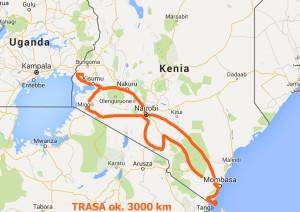 trasa kenia